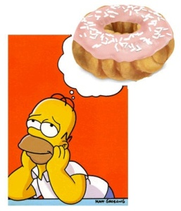 Homer and Donut